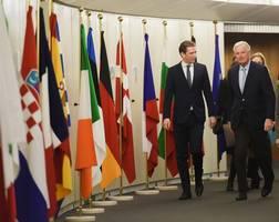 eu issues ultimatum to london ahead of brexit talks
