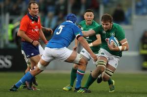 six nations facing turmoil as ireland v italy now set to be called off