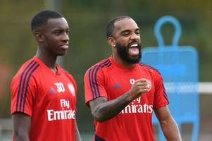alexandre lacazette's reaction to being dropped by arsenal boss mikel arteta for eddie nketiah