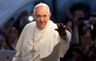 pope urges faithful to give up trolling for lent (that includes 'verbal violence' and 'harmful words')