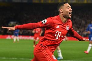 arsenal stars past and present hail serge gnabry after bayern star trolls chelsea