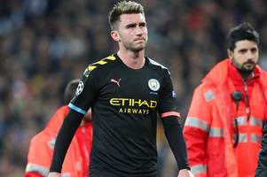 man city fans in meltdown as aymeric laporte injured during real madrid clash