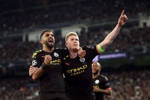 man city's miracle comeback at real madrid banishes doubt over pep guardiola's selection