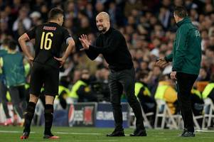 pep guardiola staying calm after man city win due to previous liverpool clash