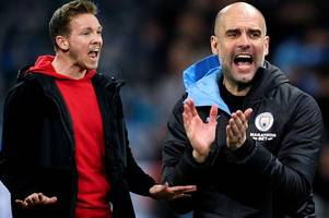 RB Leipzig's Julian Nagelsmann seeks Pep Guardiola advice with video messages