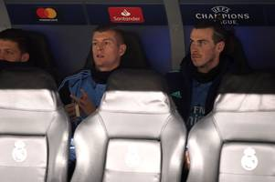 Real Madrid decision to bench Gareth Bale leaves Arsene Wenger absolutely baffled