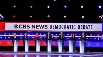 democratic candidates put sanders on defense in south carolina debate
