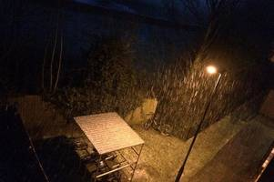 live updates as snow hits derby and derbyshire