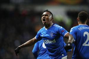 'it's possible' - alfredo morelos tipped to sign for leicester city