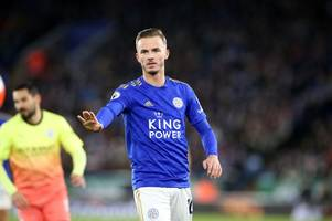 leicester city and manchester united aces named as best outside champions league by top-flight rival