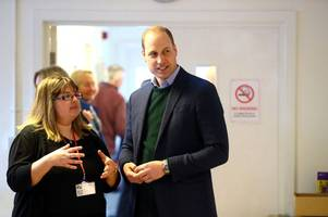 mansfield charity manager 'overwhelmed' by prince william's visit to centre
