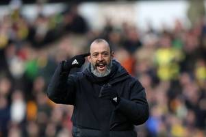 'let's hope it's just one' - wolves boss nuno's summer transfer priority