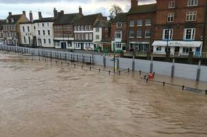 bewdley and ironbridge on alert as river severn hits record levels to breach flood defences