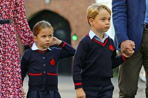 coronavirus fears at prince george and princess charlotte's school after italy trip