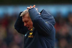 explained - the biggest dilemma aston villa boss dean smith faces this weekend