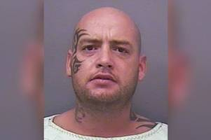 Thug with Mike Tyson tattoo given longer sentence as he's so dangerous