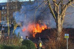 live updates as embankments floating bar and grill restaurant in maidstone goes up in flames