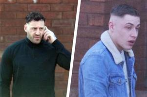 stoke-on-trent brothers burst into drug dealer's home as machete held to victim's neck in 40 seconds of torment