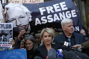 julian assange lawyers argue us charges are 'purely political'