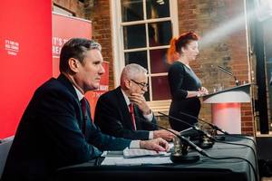 labour leadership candidates clash over brexit at guardian hustings – video