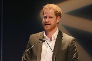 prince harry drops royal title at edinburgh event as he orders audience to call him 'harry'