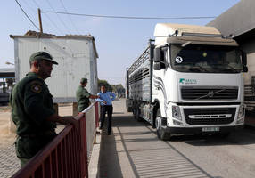 israel reopens gaza crossings after calm restored