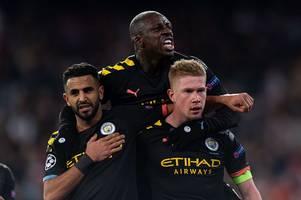 man city face champions league defensive crisis amid benjamin mendy suspension