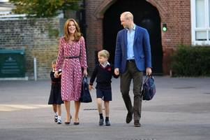 coronavirus outbreak: pupils at prince george and princess charlotte's school isolated