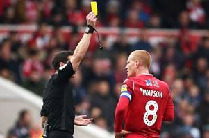 referee with nottingham forest history appointed for middlesbrough clash