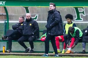 merstham boss has 'no excuses' after enfield town defeat