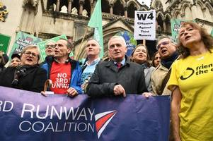 Campaigners win battle against third runway at Heathrow