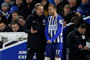 graham potter's key brighton decision to cause crystal palace problems at the amex stadium
