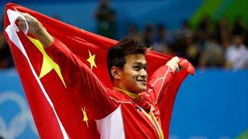 olympic champion sun yang banned from competition for 8 years