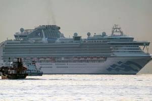 first brit 'dies of coronavirus on diamond princess cruise ship'