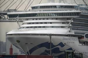 coronavirus: first british person dies of disease on diamond princess cruise ship