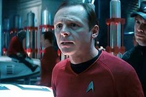 'star trek' star simon pegg says loss of anton yelchin slowed enthusiasm to make sequel