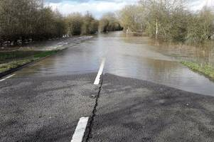 latest on a417 at maisemore and closed roads for monday rush-hour in gloucestershire