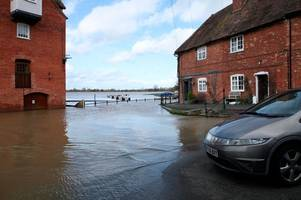 live updates as flood warnings remain in force for gloucestershire, m5 and traffic updates, met office latest