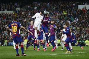 'the worst real madrid performance i've seen' - gerard pique jibe at arch rivals despite clasico defeat