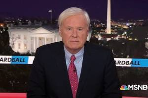 chris matthews' 'hardball' ratings won't be so hard for msnbc to replace