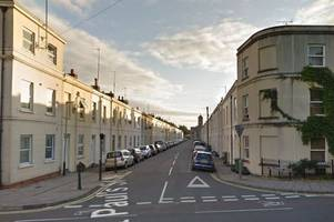 man punched in face on cheltenham street corner as he was attacked moments after saying goodbye to friend