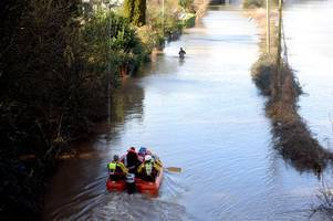 what met office says about 'wettest ever' february as flood warnings remain in gloucestershire