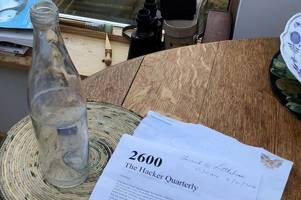 beach cleaner bags £800 after finding message in a bottle dropped in middle of the atlantic