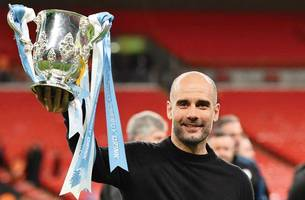 league cup: 'remarkable' man city consistency delights serial winner pep guardiola