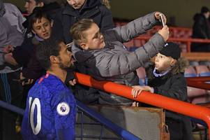 what ruben loftus-cheek did immediately after playing 90 minutes for chelsea u23's vs everton