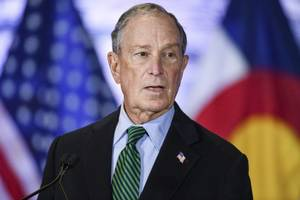 bloomberg spokesperson talks up campaign's chances despite early super tuesday losses (video)