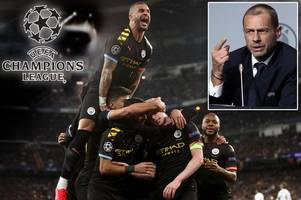 uefa chief explains situation if man city win champions league this season after ffp ban