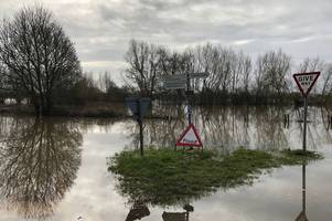live updates as roads in gloucestershire as the a417 maisemore remains closed due to flooding, m5 updates and latest weather forecasts