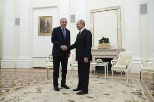 russian, turkish presidents meet as syria violence continues