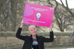 scots tv star gail porter urges people to 'be kind' in mental health campaign